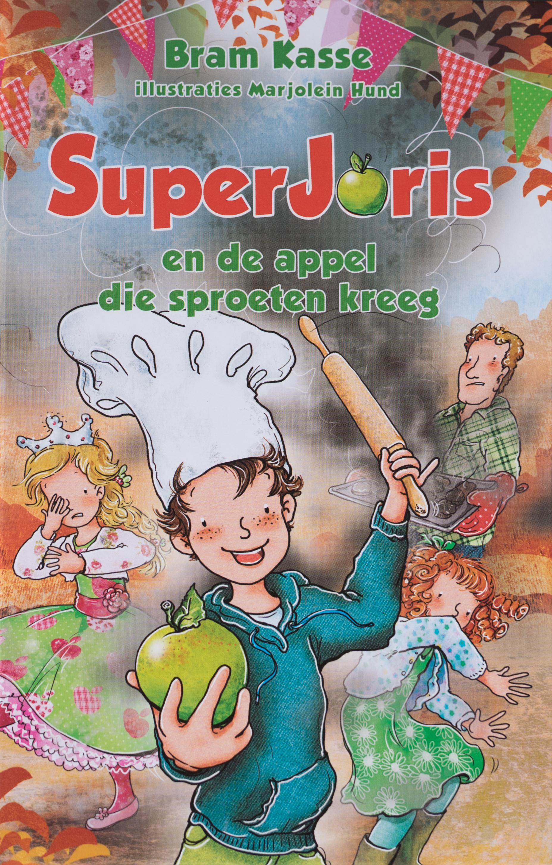 SUPERJORIS en de appel die sproeten kreeg – deel 3